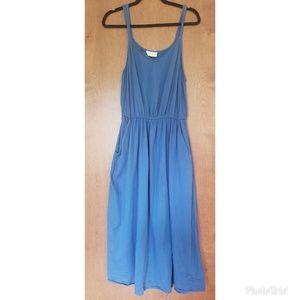Universal Thread Target sz X / 0X blue midi dress